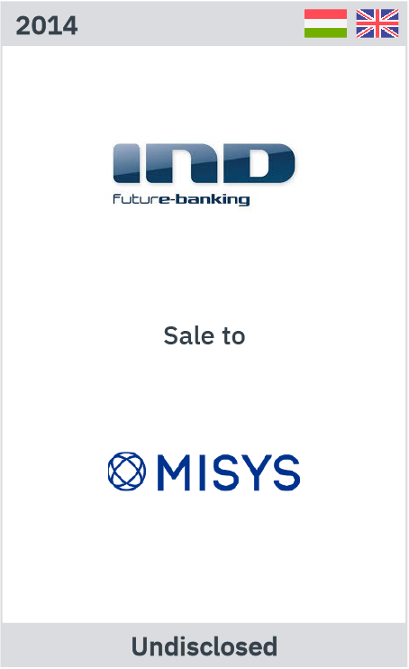 IND Future banking sale to Misys